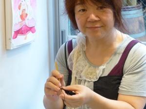 Plum momoya crochet japonais