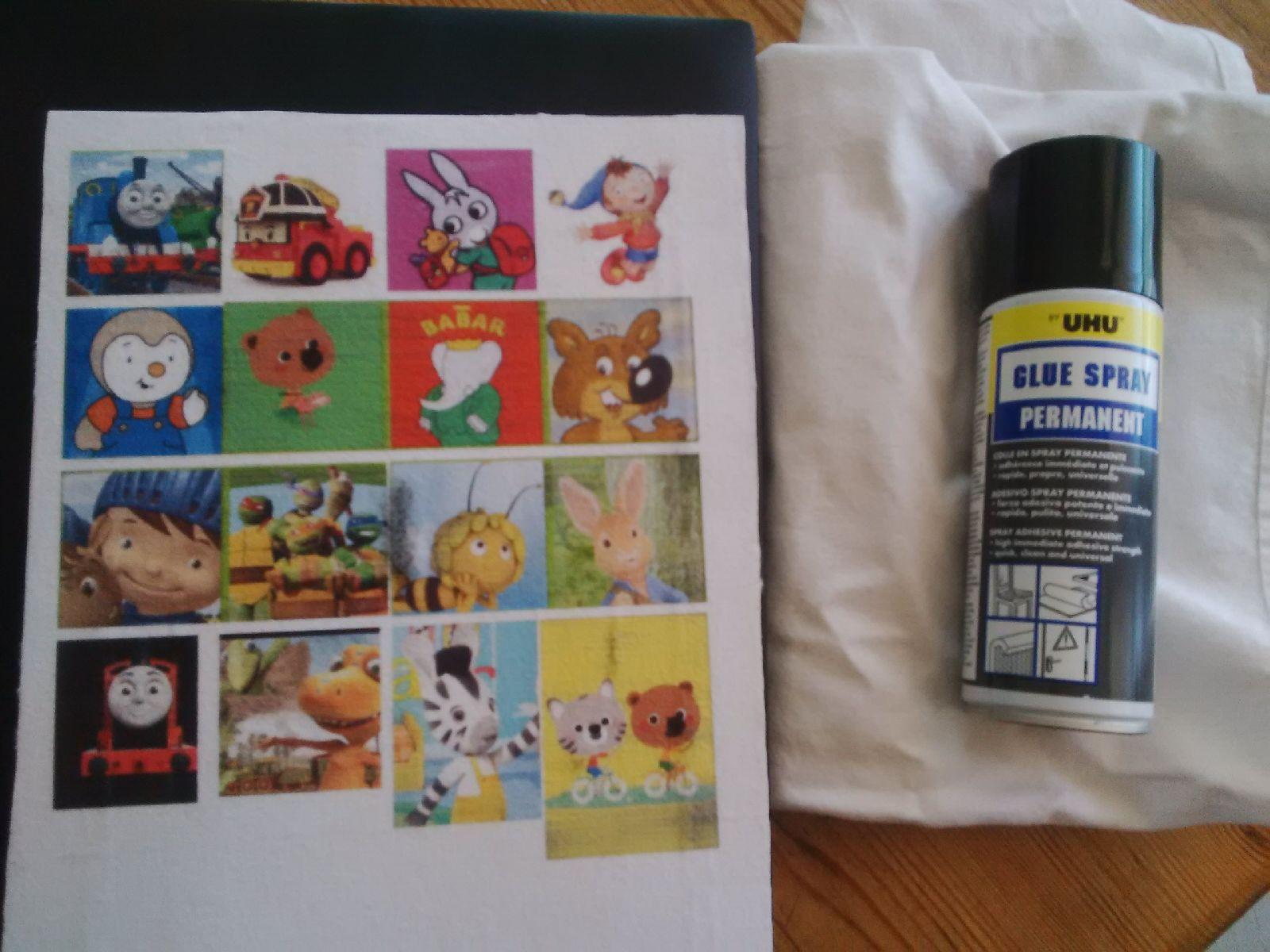 Quiet book lilielcrochete for Sam toft imprime ikea
