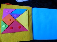 tangram quiet book