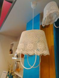 luminaire original au crochet