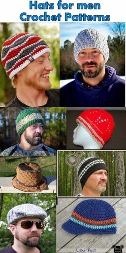 Men's hats)